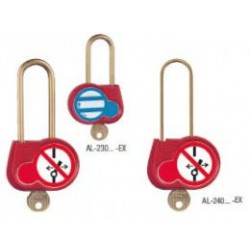Locking Padlock with picto