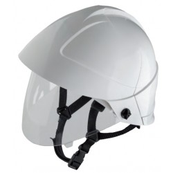 Helmet with Built-in Face...