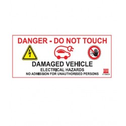 Temporary Label for damaged...