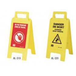 Folding Danger Markers